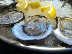 Oysters from Taylor Shellfish on Capitol Hill