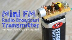 Build A Long Range FM Transmitter