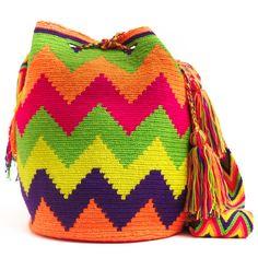 Wayuu Boho Bags with Crochet Patterns Crochet Baby, Knit Crochet, Mochila Crochet, Tapestry Crochet Patterns, Diy Handbag, Fabric Purses, Crochet Instructions, Boho Bags, Knitted Bags