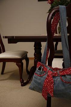 Jeans acabado Bag