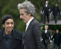 The Twelfth Doctor (Peter Capaldi) & Pearl Mackie (Bill Potts)
