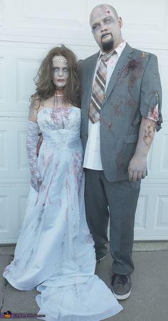 Adulto WALKING DEAD ZOMBIE HALLOWEEN FANCY DRESS COSTUME shaun of the dead