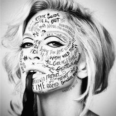 #Madonna #Artwork #rebelheart #tracks by @marco_dematteo