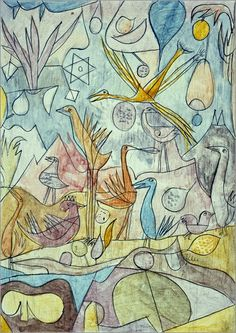 Paul Klee | Flock of Birds, 1917