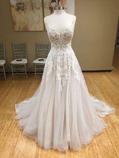 Wonderful Perfect Wedding Dress For The Bride Ideas. Ineffable Perfect Wedding Dress For The Bride Ideas. Boho Wedding Dress, Dream Wedding Dresses, Bridal Dresses, Wedding Gowns, Prom Dresses, Court Dresses, Lace Wedding, Elegant Wedding, Ethereal Wedding Dress