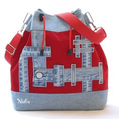 VK is the largest European social network with more than 100 million active users. Denim Purse, Jeans Denim, Tote Purse, Patchwork Bags, Quilted Bag, Diy Bags Purses, Purses And Handbags, Mochila Jeans, Jean Purses
