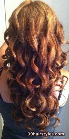 wavy bangs long brown hairstyle - 99 Hairstyles Ideas