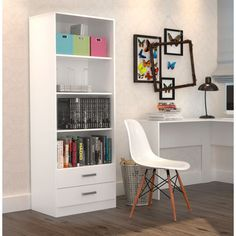 Office Furniture, Office Desk, Re Room, Bookshelves, Bookcase, 3d Home, Shelving, Corner Desk, Bedroom Decor