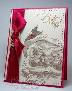Santa, I Believe stamp set - i love this stamp!