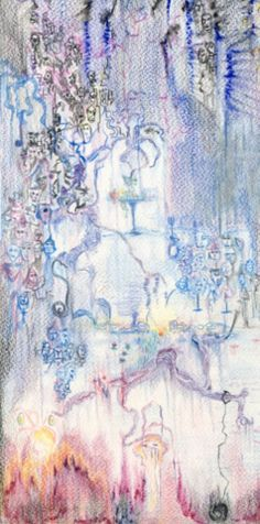 Zsófia Sárhidai: Pastel + pencil drawing