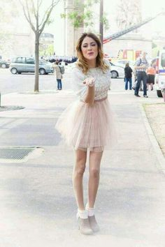 Martina Stoessel In Paris