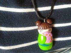 #bambolina #giappo #fimo #creazione #fattaamano #handmade #geisha #doll #fimocreations
