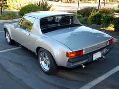 Hot rod Porsche 914 with 3.2L 300hp 6 cylinder air cooled engine.