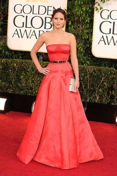 Golden Globes las mejor y las peor vestidas: Jennifer Lawrence