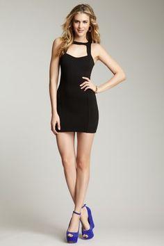 For Show Cutout Mini Dress
