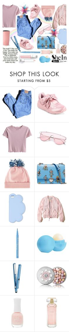 """""""the truth is..."""" by ztugceuslu ❤ liked on Polyvore featuring Givenchy, Levi's, Puma, Federica Moretti, Prada, STELLA McCARTNEY, Hollister Co., Too Faced Cosmetics, Eos and BaByliss"""