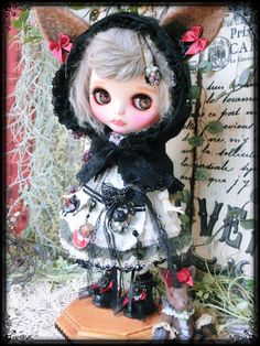 *Prettam*カスタムブライス**Gothic Lolita × 黒ずきんちゃん** - ヤフオク!