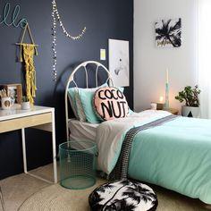 Girls bedroom - ourlieu. www.fourcheekymonkeys.com