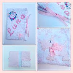 Os documentos da princesa Luna vão andar sempre arrumadinhos neste prático e muito útil PORTA DOCUMENTOS    Com separador para cartões.   +INFO: mimeoseubebe@gmail.com   #mimeoseubebe #enxovaldemenina #portadocumentos #bebe #papasbabados #madewithlove