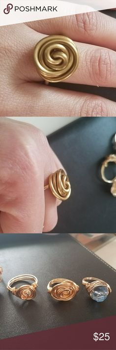 Hand made Hand made rings any size and color  you want hand made Accessories