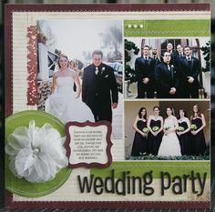 Wedding Scrapbooking | Wedding idea. | Scrapbook ideas