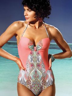 987e3703c17b7 Jolidon Swimwear 2013 Indian Summer One Piece Swarovski Swimsuit  http://www.elitefashionswimwear