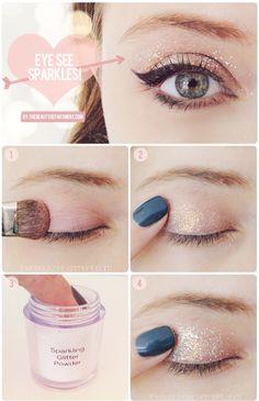 How To -- Eye Sparkles!!