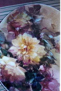 Antique Rose Paintings | ARTchat - Porcelain Art Plus (formerly Chatty Teachers & Artists)