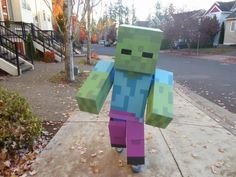 Josh Dickerson uploaded this image to 'Minecraft Zombie'.  See the album on Photobucket.