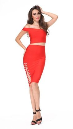 Karina Two-Piece Bandage Dress