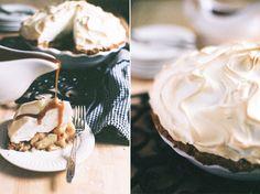Bourbon Apple Meringue Pie