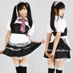 Maid Outfit, Maid Dress, French Maid Costume, Maid Cosplay, Cute Japanese Girl, Asian Lingerie, Asian Doll, Amazing Cosplay, Lolita Dress