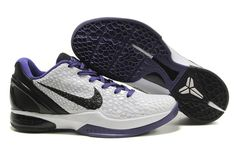 Nike Zoom Kobe Vi White Black Purple