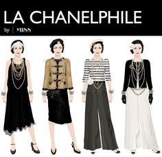 Coco Chanel Virtual Paper Doll on StarDoll.com