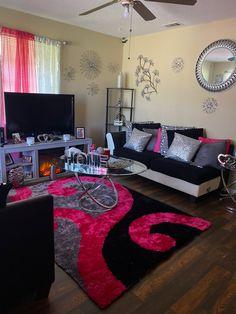 Living Room Decor Colors, Decor Home Living Room, Glam Living Room, Cute Room Decor, Living Room Designs, Living Rooms, Home Decor, Room Design Bedroom, Room Ideas Bedroom