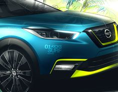 Nissan Frontier Sentinel 2018 on Behance Nissan Navara D40, Nissan Versa, Jaguar E, Automotive Design, Concept Cars, Sketches, Behance, Latin America, Luxury