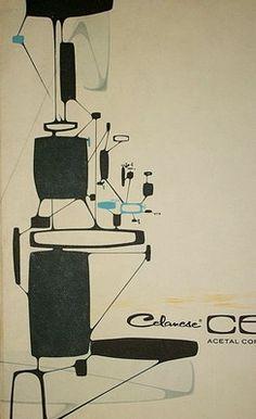 1965 Celcon Steel Kronolog brochure by Syd Mead