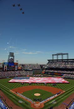 Coors Field, home of the Rockies.