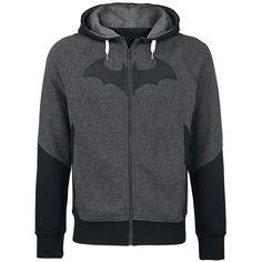 Batman Capucha con cremallera »Logo« | Cómpralos en EMP | Más Fan merch Chaquetas con capucha disponibles online