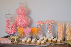 luxe circus baby shower, gold circus animal, chevron party theme, pink and orange party theme, luxe circus party theme, candy bar