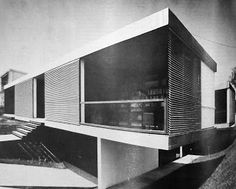 A Greek Architect envisioned, at the end of the the digitized era, henceforth becoming the precursor of modern architecture on a global scale. Takis Zenetos was born in Athens in 1926 and. Weekend House, Athens, Modern Architecture, Blinds, Greece, Stairs, Outdoor Decor, Home Decor, Modernism