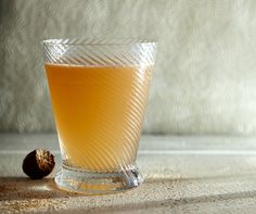 Orientation Cocktail 1¾ ounces VSOP Cognac, like Louis Royer Force 53 ¾ ounce orgeat syrup ½ ounce amontillado Sherry ½ ounce lemon juice 3 dashes Angostura Bitters Grated nutmeg, for garnish