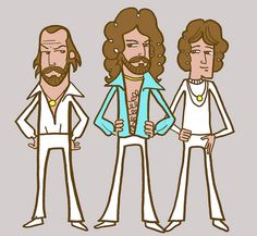 The Bee Gees by mr raymond, via Flickr