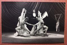 "Vintage USSR Russian photo postcard 1968 Russian ballet scene ballet ""Paganini"""