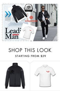 """""""Snapmade  3/2"""" by deyanafashion ❤ liked on Polyvore featuring men's fashion and menswear"""
