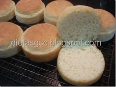 Pão de Hamburguer Sem Glúten e Sem Leite SGSC