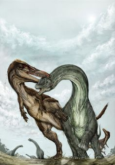 Austroraptor was a carnivore. It lived in the Cretaceous period and inhabited South America. Its fossils have been found in places such as Argentina.