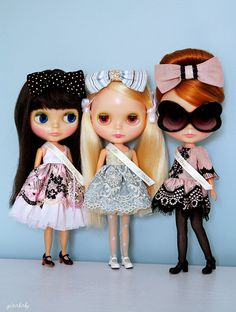 Dear Aunt Melissa-    Thank you soooo much for making us these three very special dresses :) We love them and we love you! You are the BEST! <3333    smooches,  Reesie, Sugar and Lola  xoxoxoxoxoxo     Click this pin to see what's HOT this season
