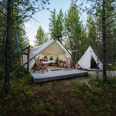 """25 Lake Vacations That Channel """"Moonrise Kingdom"""" Vibes Glacier Park Montana, Woodlands Camping, Bell Tent Camping, Vacation Destinations, Lake Vacations, Moonrise Kingdom, Go Outdoors, Luxury Camping, Photo Canvas"""