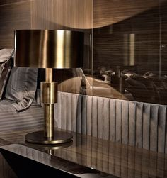 Luxury Nightstand | Incredible shiny nightstand with a fantastic varnish | www.bocadolobo.com | #design #luxuryfurniture